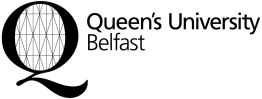 QUB logo_black and White high res.
